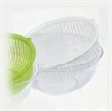 水晶瀝水籃組-白