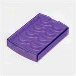 【INOMATA】眼睫毛收納盒 (紫)