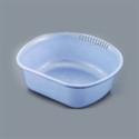 【SANADA】D型洗菜盆-藍