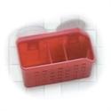 【YAMADA】Q-BAN4廚房瀝水籃-粉紅