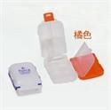 【YAMADA】3段式小物藥盒(白蓋-橘)