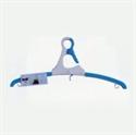 折肩式衣架-藍
