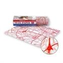 巴黎舊街圖防油餐紙(紅)