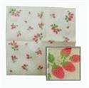 草莓餐巾紙-咖啡