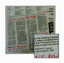 報紙餐巾紙-白