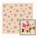 玫瑰餐巾紙-咖啡
