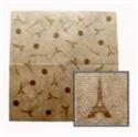 艾菲爾鐵塔餐巾紙-咖啡