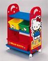【錦化成】卡通玩具收納櫃 - KITTY