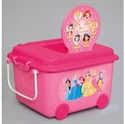 【錦化成】玩具收納箱-公主