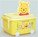 【錦化成】玩具收納箱-維尼