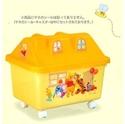 玩具收納箱-維尼房子