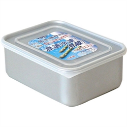 【AKAO】深鋁合金保鮮盒(850ml)