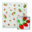 草莓餐巾紙-白