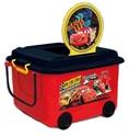 【錦化成】玩具收納箱-CARS