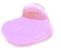 心型吸盤皂盒