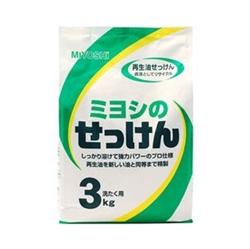 【MIYOSHI】無添加洗衣粉3kg
