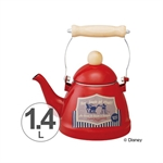 【SKATER】米奇琺瑯茶壺(1.4L)