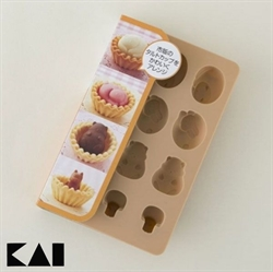 【貝印】巧克力模型 動物