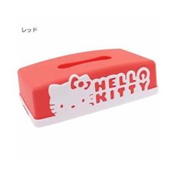 【SANTAN】Hello Kitty 面紙盒 (紅色)