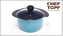 8號鍋:玫瑰鍋-24cm雙耳湯鍋(附原廠玻璃蓋)