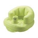 【Richell】寶寶充氣座椅 綠
