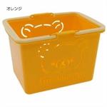 【SANTAN】懶懶熊 置物籃 (橘)