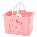 【SANTAN】Hello Kitty 置物籃 (粉)