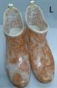 【NISHIBE】#781 雨鞋 (咖啡花-L)