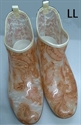 【NISHIBE】#781 雨鞋 (咖啡花-LL)