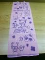 拉拉熊搓澡巾(粉)