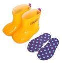 【stample】果凍黃雨鞋13cm