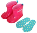 【stample】果凍粉雨鞋13cm