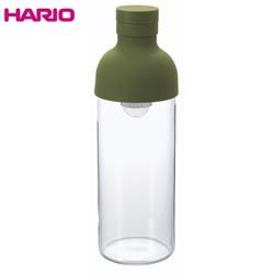 【HARIO】玻璃冷泡壺-綠300 ML