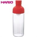【HARIO】玻璃冷泡壺-紅300 ML