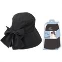 【SHF】女優抗UV蝴蝶結帽(黑色)