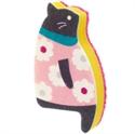 【MARNA】貓貓海綿刷-粉小花