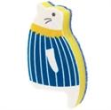 【MARNA】貓貓海綿刷-藍條紋