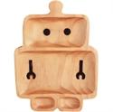【SPICE】木製兒童盤 (機器人)