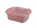角型洗桶(粉)