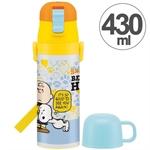 【SKATER】直飲水壺 430&470ml (史努比)