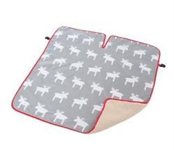 【COGIT】寶寶保暖背巾毯(灰麋鹿)
