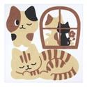 【SANKO】馬桶消臭貼(午睡貓)