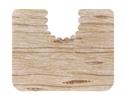【SANKO】馬桶地墊-方型淺木紋