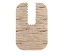 【SANKO】馬桶地墊-長型淺木紋