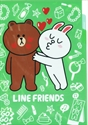 【SHOWA】LINE FRIENDS A4資料夾