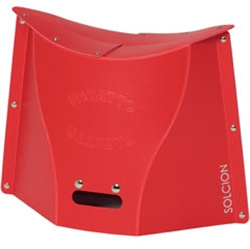 【IKEX】超輕量可折疊攜帶式椅 (L號紅色)