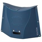 【IKEX】超輕量可折疊攜帶式椅 (L號深藍)
