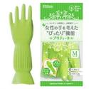 【Dunlop】機能橡膠裏棉 手套(綠M)