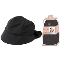 【SHF】女優抗UV綁結帽(黑色)