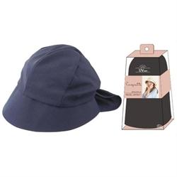 【SHF】女優抗UV綁結帽(海軍藍)